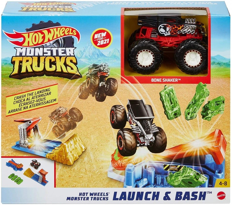 HW Monster Trucks Kaskaderskie lądowanie GVK08