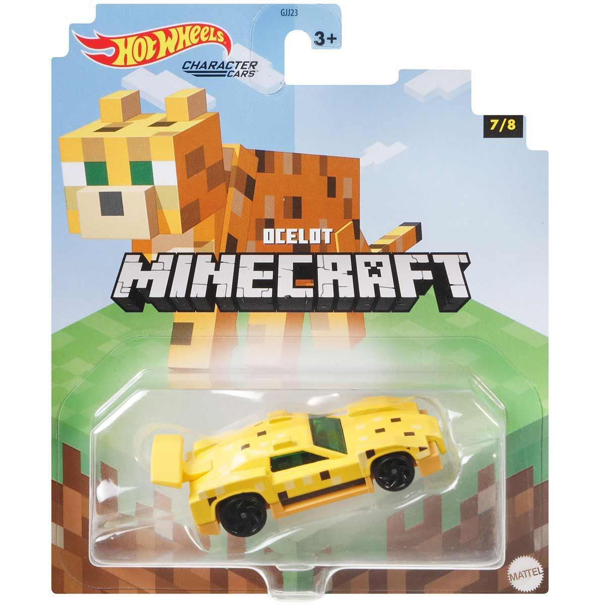 Hot Wheels Autko Minecraft Dcelot GJJ23 GYB71