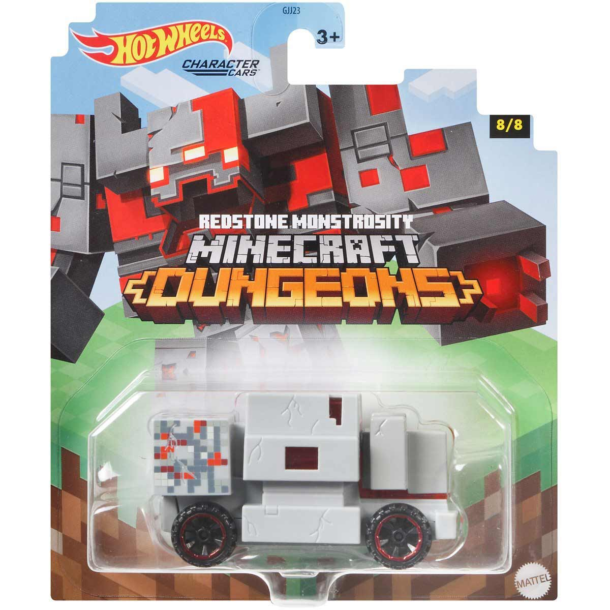 Hot Wheels Autko Minecraft Redstone M GJJ23 GRM40